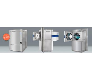 Systec - Model H-Series 2D - Double-Door/Pass-Through Autoclaves - 90-1580 L