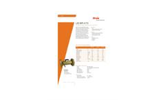 Itron US BR 473 Ultrasonic Flow Meter Brochure