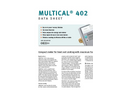 Kamstrup Multical 402 Heat Meters Brochure