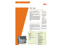 Itron CF 55 Heat & Cooling Meter Calculator Brochure