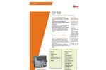 Itron CF 55 Heat & Cooling Meter Calculator Brochure