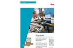 Itron Aquadis Rotary Piston Cold Water Meters Brochure