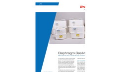 Itron Diaphragm Gas Meters Brochure
