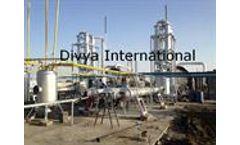 Divya International - Model DI-05 - Waste tyre Plant