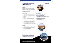 Civil Engineering Safety Training - Brochure