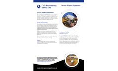 Service of Safety Equipment - Brochure