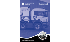 High Pressure Jetting and Suction Vehicle - Brochure
