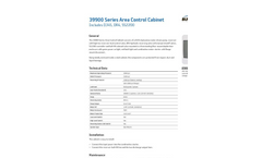 Area Control Cabinet-39900 Series - Brochure
