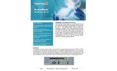 Tomtec AutoSeal - Thermal Sealer - Datasheet