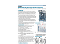 Model B50 - Air Operated Diaphragm Pump - Datasheet