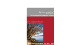 MOSSELMONITOR - Biological Early Warning System Brochure