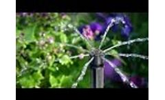 Antelco Shrubbler ® 360° and 180° Adjustable Flow Micro Irrigation Drippers Install Video