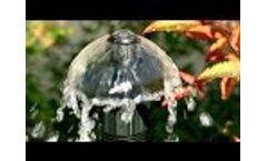Antelco Mini Bubbler 360° Adjustable Flow Micro Irrigation Emitters  Video
