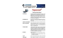 Tapecoat - Model 6025 HT - Tape System Brochure