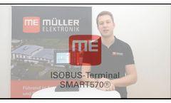 ISOBUS Terminal SMART570 - Video
