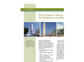Air Emissions Testing for Midstream Facilities Brochure
