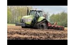 Claas Challenger 35 met Evers Salerno Vario-disc (2015) Video