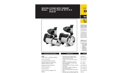 Economical,Compact,Booster Systems BT Series Data Sheet- Brochure