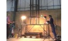 Glass Drop Test Video