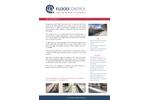 FloodControl - Flip-Up Flood Barrier - Brochure