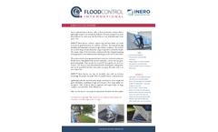 FloodControl Inero - Temporary Flood Barriers - Brochure