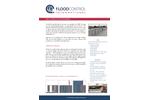 FloodControl - Self Closing Flood Barriers - Brochure