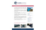 FloodControl - Lift-Hinge Flood Gates - Brochure