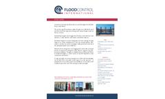 FloodControl - Pivot Flood Gates - Brochure