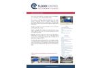 FloodControl - Heavy Duty Sliding Floodgates - Brochure