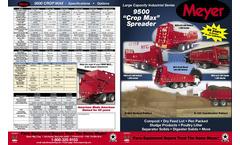 Crop Max - Model 9500 - Manure Spreaders Brochure