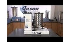 Gilson W.S. Tyler Ro-Tap 8in Sieve Shaker (SS-30) Video