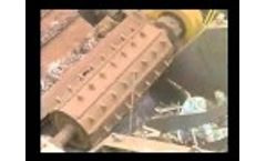 Scrap Car Shredded! - Where Junk Cars Go! Steel Scrap Processing Plant Video