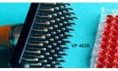 Model VP 403B - Manual Pin Tools- Grooved Pin Liquid Transport System