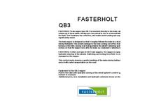 Fasterholt - Model QB3 - Bale Wagon - Brochure