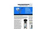 Flow and Pressure Adaptors Brochure