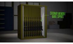 Vidmar Vertical Weapon Storage System - Video