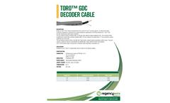 Toro - Model GDC - Decoder Cable Brochure