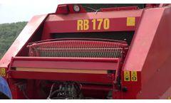 FMRB 170 - Round Baler