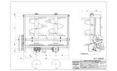 Model SV2 - Manure Spreader with 2 Vertical Rollers Brochure