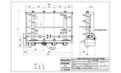 Model SV4 - Manure Spreader with 4 Vertical Rollers Brochure