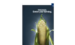 Trelleborg - Model TM2000 - Combine Harvesters Tires Brochure