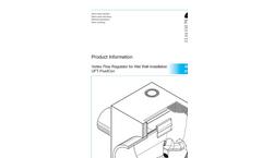 UFT-FluidCon - Model 0121n - Conical Vortex Valve - Brochure