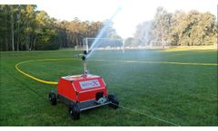 Irriforce Minix - Travelling Sprinkler - Video
