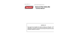Tapeswitch - Diamond Plate Aluminum Safety Mats - Technical Manual