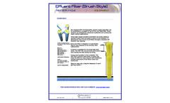 Rex-Bac-T - Model Sim/Tech STF-110 - Septic Tank Effluent Filter Brochure