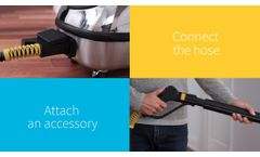 Dupray Hill Injection Commercial Steam Cleaner - New Model - Video