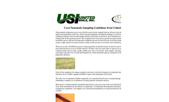 Corn Nematode Sampling Guidelines from United Soils Datasheet