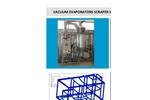 C&G - Model Scraper Series - Vacuum Evaporators - Brochure