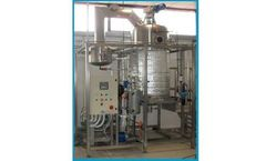 C&G - Model Scraper Series - Vacuum Wastewater Evaporators