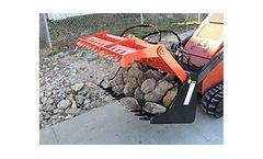 SARG - Model 42 & 42B/G - Sweep Action Rock Grapple for Mini Skid Steer